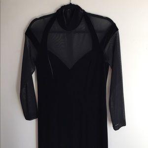 90's evening dress